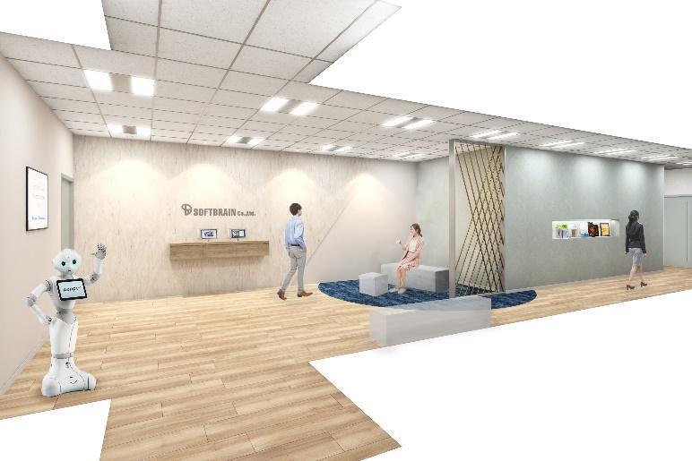 ソフトブレーン株式会社 新オフィス